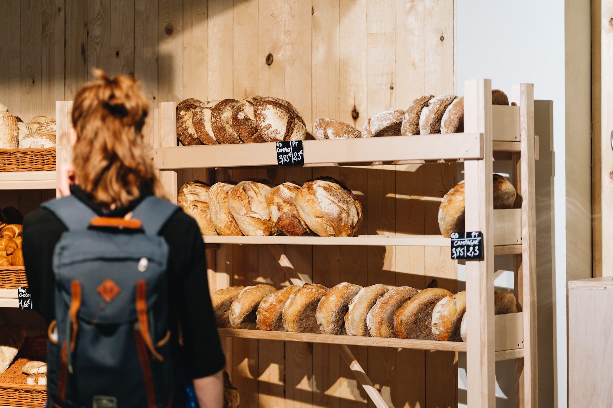 Marché Bio Markt vers brood van de bakkerij