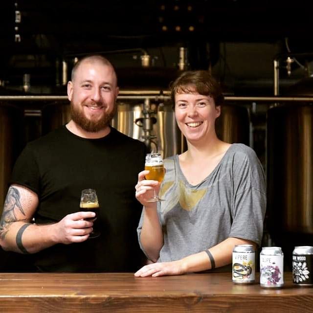 Nina en Mathieu, de oprichters van La Source brouwerij