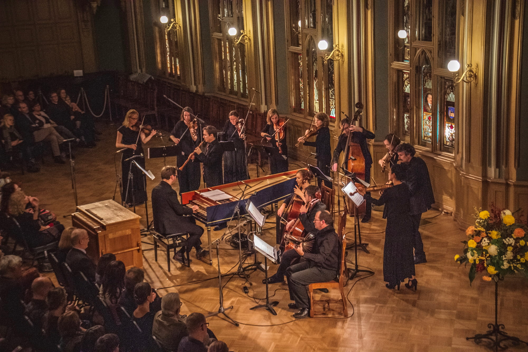 Concert in Riga van Les Muffatti