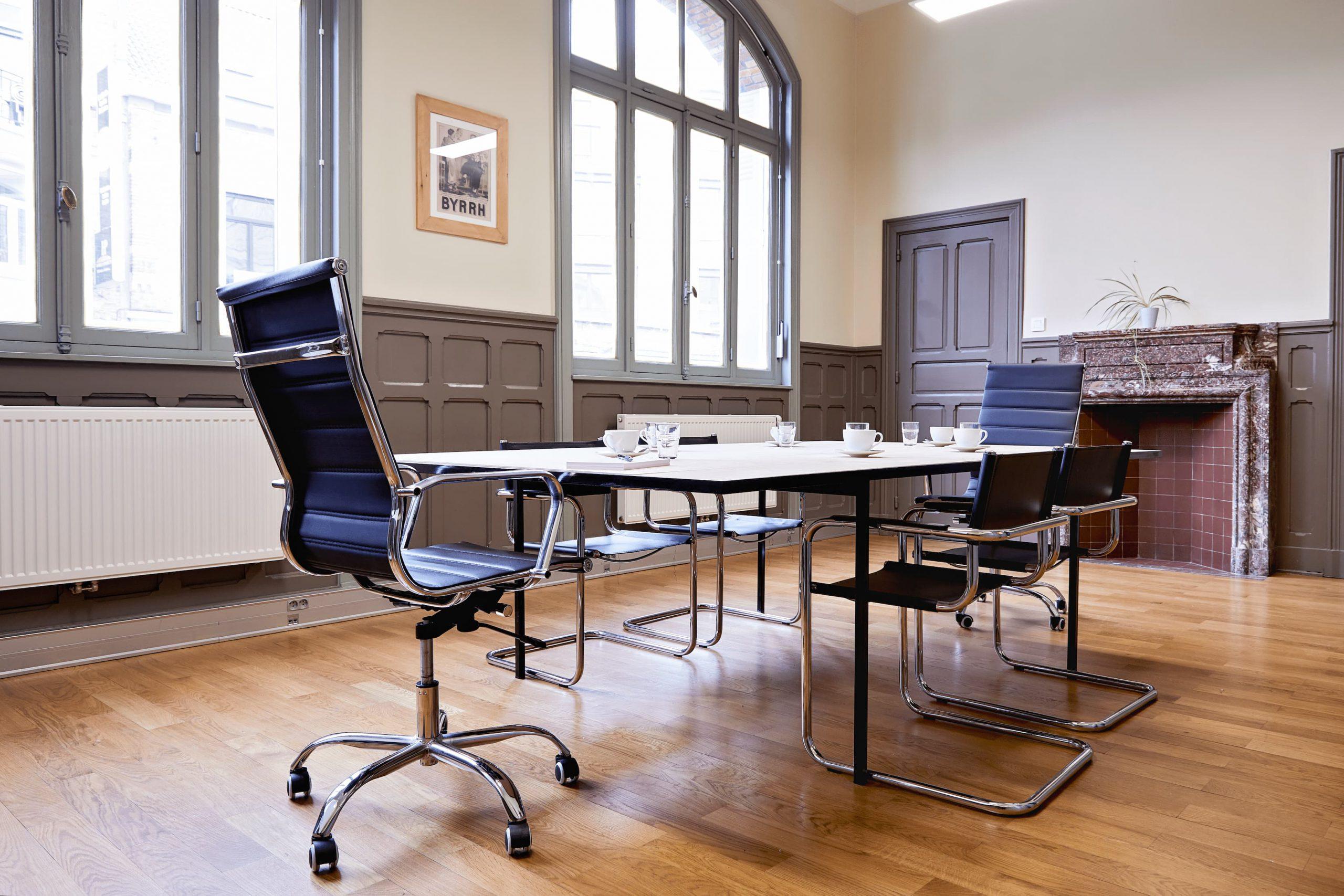 BE-HERE Location de salle de réunion à Bruxelles