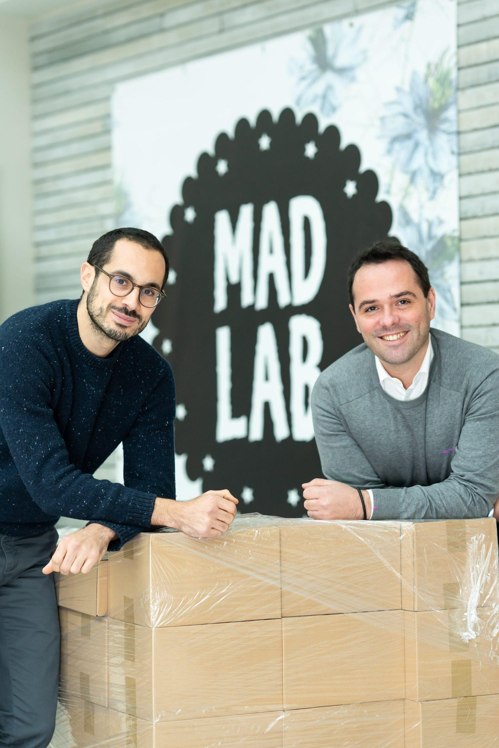 Les fondateurs Cyril et David de MADLAB