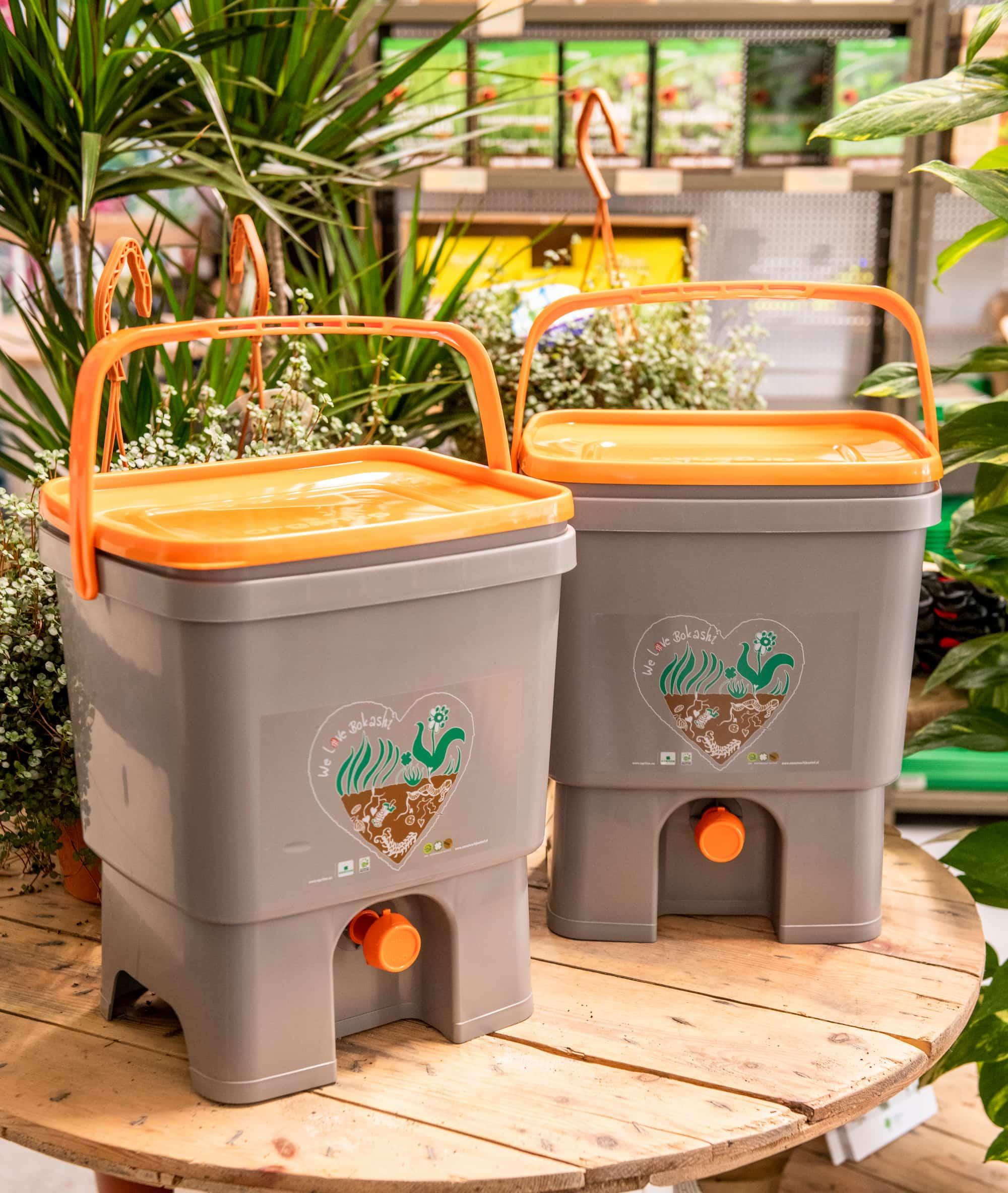 skyfarms bokashi réduires les déchets organiques pépinière bruxelloise