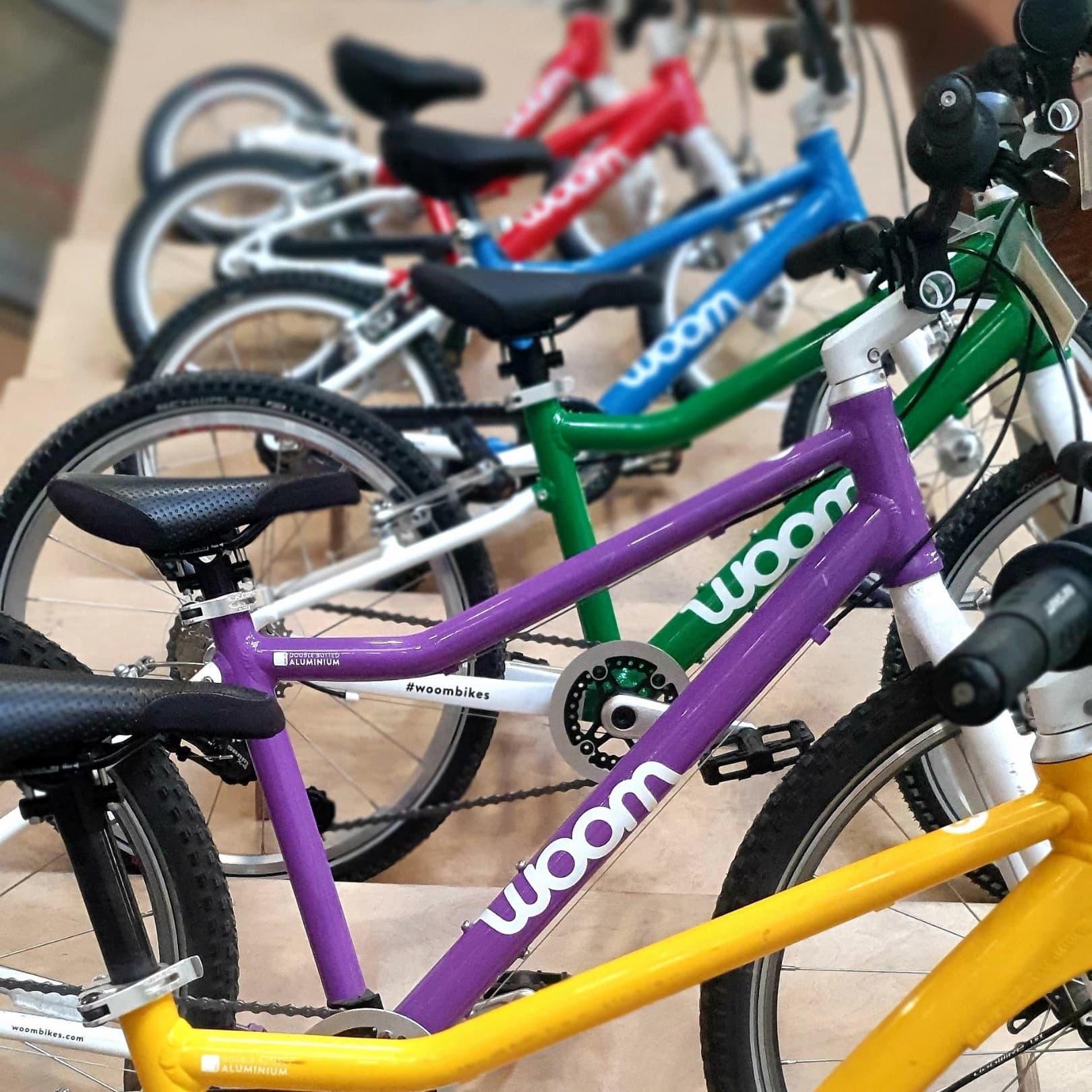 Bike Your Planet est le distributeur officiel de Woom Bikes