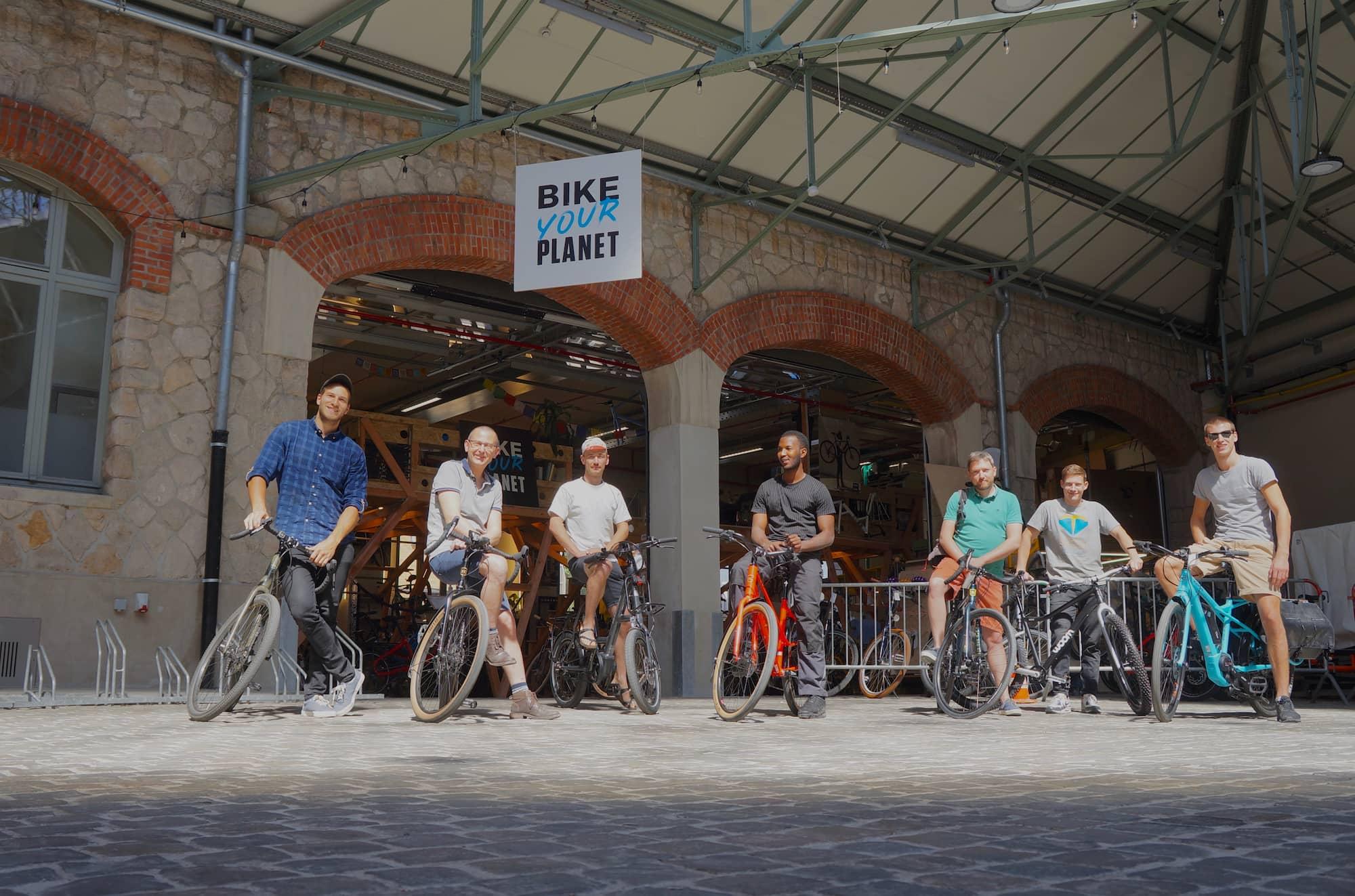 Bike Your Planet l'équipe de fans de velos