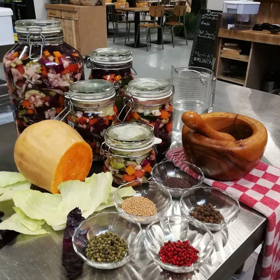 fermenthings kimchi workshop ingrédients pour fermentation