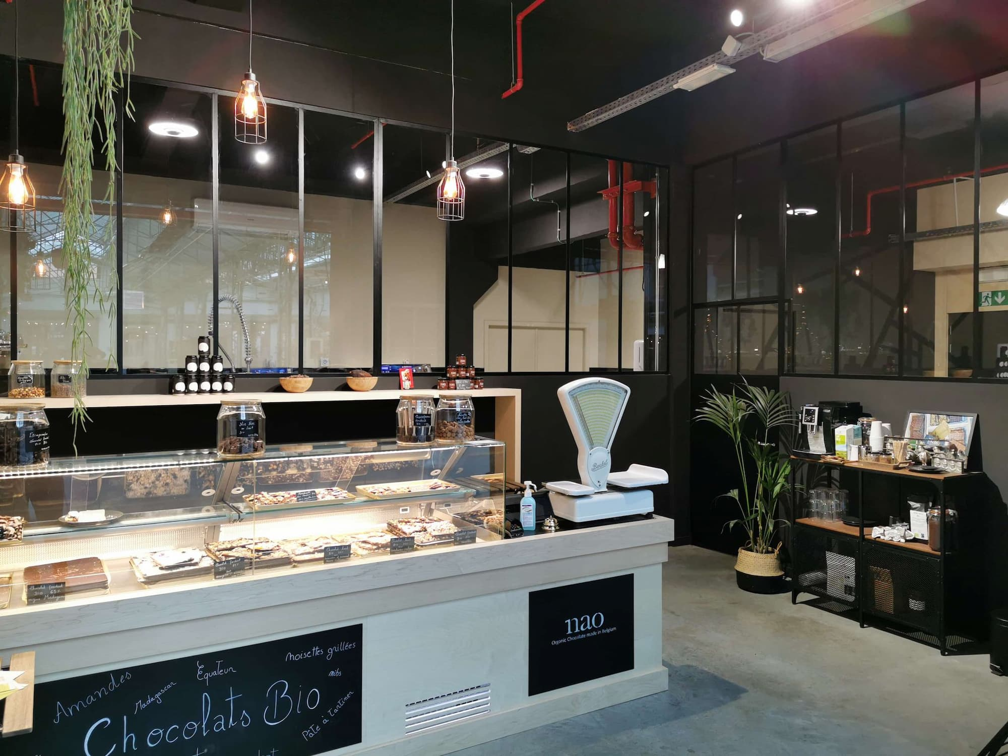 Chocoladewinkel van Nao gemaakt in België, bio en kwaliteitsvol