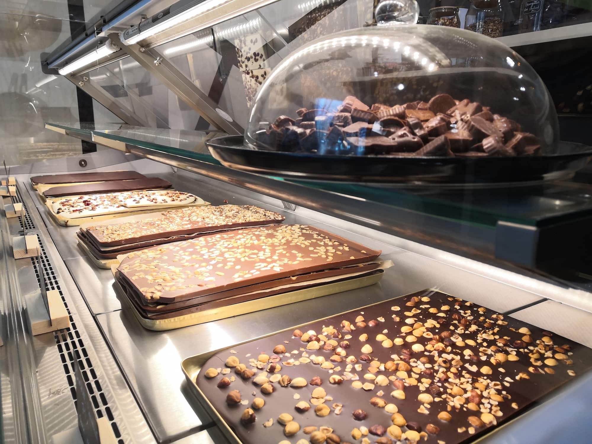 nao chocolats en vrac tablettes magasin et atelier de production