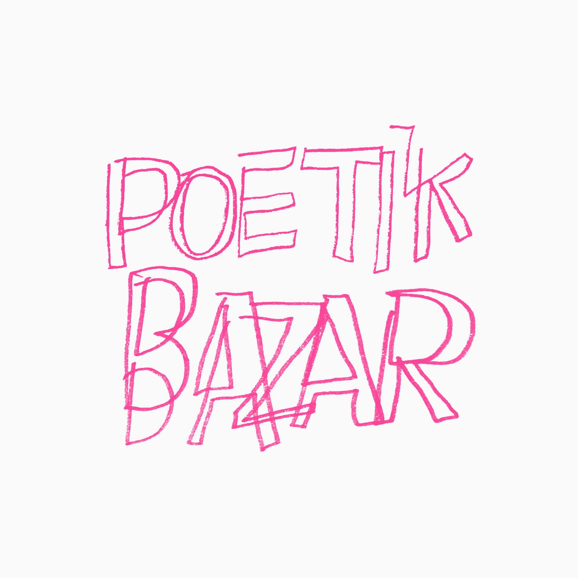 Poetik Bazar marché de la poésie Bruxelles évènement